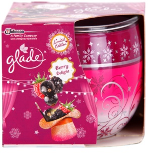 Glade Blackberry bougie parfumée 120 g