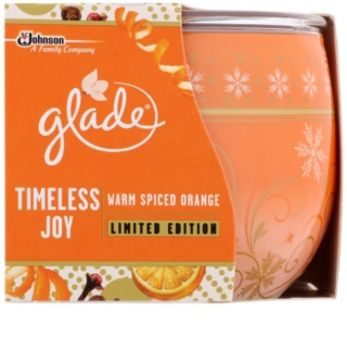 Glade Warm Spiced Orange Scented Candle 120 g