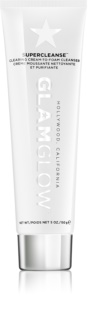 Glam Glow SuperCleanse mousse detergente in crema