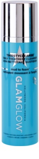 Glam Glow Thirsty Cleanse oczyszczająca pianka do demakijażu o dzłałaniu nawilżającym