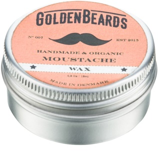 Golden Beards Moustache Moustache Wax