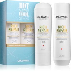 Goldwell Dualsenses Rich Repair kosmetická sada (pro suché a poškozené vlasy)
