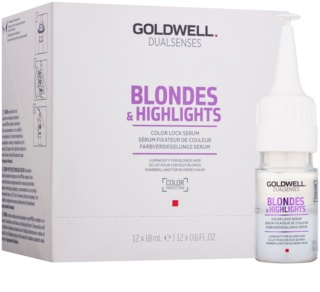 Goldwell Dualsenses Blondes & Highlights sérum para cabelo loiro e com madeixas