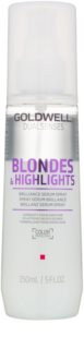 Goldwell Dualsenses Blondes & Highlights spülfreies Serum im Spray für blondes und meliertes Haar