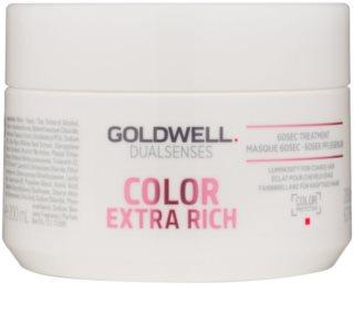 Goldwell Dualsenses Color Extra Rich αναγεννητική μάσκα για σκληρά  και βαμμένα μαλλιά