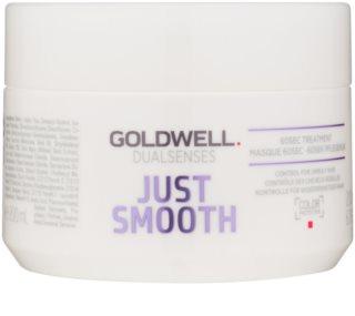 Goldwell Dualsenses Just Smooth розгладжуюча маска для неслухняного волосся