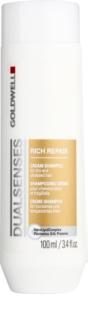 Goldwell Dualsenses Rich Repair champú regenerador para cabello seco y dañado