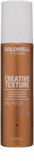 Goldwell StyleSign Creative Texture Unlimitor 4 восък за коса  в спрей