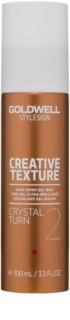 Goldwell StyleSign Creative Texture cire en gel brillance intense