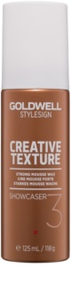 Goldwell StyleSign Creative Texture Showcaser 3 Wax Mousse For Hair