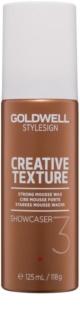 Goldwell StyleSign Creative Texture Showcaser 3 Schuimwax  voor het Haar