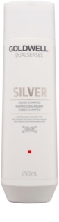 Goldwell Dualsenses Silver champô cinzento neutralizante para cabelo loiro e grisalho