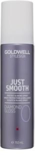 Goldwell StyleSign Just Smooth защитен спрей  за блясък и мекота на косата