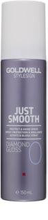 Goldwell StyleSign Just Smooth védő spray a fénylő és selymes hajért