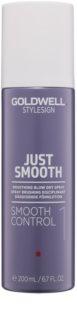 Goldwell StyleSign Just Smooth gladmakende spray voor föhnen