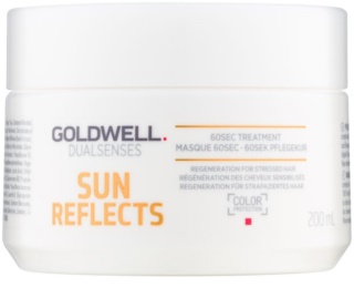 Goldwell Dualsenses Sun Reflects Regenerating Mask for Hair Damaged by Chlorine, Sun & Salt