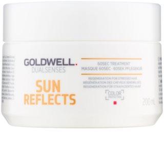 Goldwell Dualsenses Sun Reflects regeneracijska maska za lase izpostavljene soncu, morski in klorirani vodi