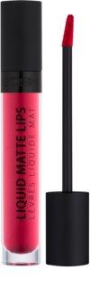 Gosh Liquid Matte Lips рідка помада