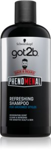 got2b Phenomenal champú refrescante para cabello y barba