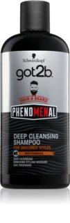got2b Phenomenal hloubkově čisticí šampon