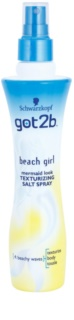 got2b Beach Girl Spray com sal para styling para cabelo