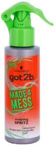 got2b Made 4 Mess извайващ спрей За коса