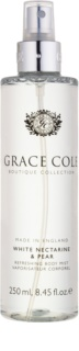 Grace Cole Boutique White Nectarine & Pear odświeżający spray do ciała