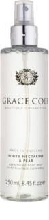 Grace Cole Boutique White Nectarine & Pear osvěžující tělový sprej