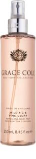 Grace Cole Boutique Wild Fig & Pink Cedar osvěžující tělový sprej