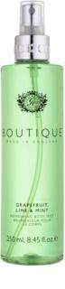 Grace Cole Boutique Grapefruit Lime & Mint osvěžující tělový sprej