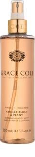Grace Cole Boutique Vanilla Blush & Peony spray corporal refrescante