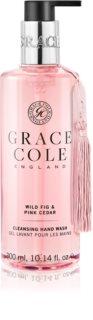 Grace Cole Wild Fig & Pink Cedar jemné tekuté mýdlo na ruce