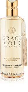Grace Cole Nectarine Blossom & Grapefruit łagodzący żel pod prysznic i do kąpieli