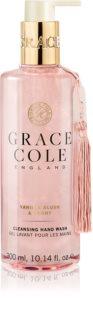 Grace Cole Vanilla Blush & Peony Negovalno tekoče milo za roke