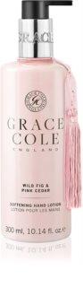 Grace Cole Wild Fig & Pink Cedar crema de maini cu textura fina