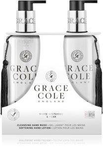 Grace Cole White Nectarine & Pear косметичний набір