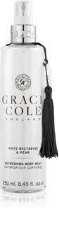 Grace Cole White Nectarine & Pear vlažilna meglica za telo