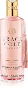 Grace Cole Vanilla Blush & Peony pomirjajoči gel za tuširanje