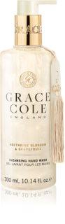 Grace Cole Nectarine Blossom & Grapefruit oczyszczające mydło do rąk w płynie