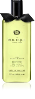 Grace Cole Boutique Lime & Orange Blossom gel de douche