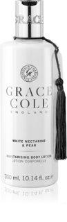 Grace Cole White Nectarine & Pear vlažilni losjon za telo
