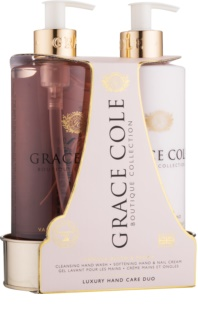Grace Cole Boutique Vanilla Blush & Peony kozmetični set II.