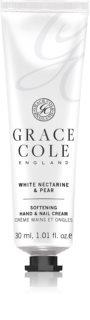 Grace Cole White Nectarine & Pear omekšavajuća krema za ruke i nokte