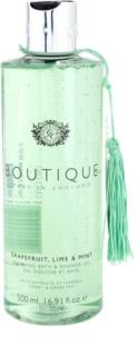 Grace Cole Boutique Grapefruit Lime & Mint pomirjevalni gel za kopel in prhanje