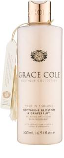 Grace Cole Boutique Nectarine Blossom & Grapefruit relaksacijska pena za kopel