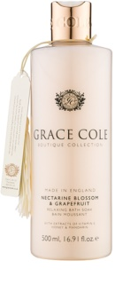 Grace Cole Boutique Nectarine Blossom & Grapefruit relaxačná pena do kúpeľa