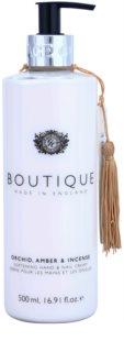Grace Cole Boutique Orchid, Amber & Incense zjemňující krém na ruce a nehty