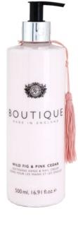 Grace Cole Boutique Wild Fig & Pink Cedar zjemňující krém na ruce a nehty