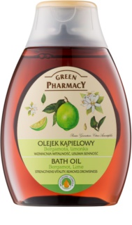 Green Pharmacy Body Care Bergamot & Lime olio da bagno