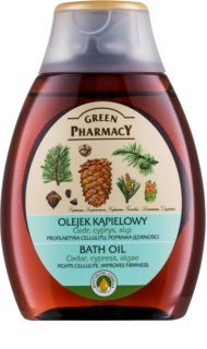 Green Pharmacy Body Care Cedar & Cypress & Algae koupelový olej